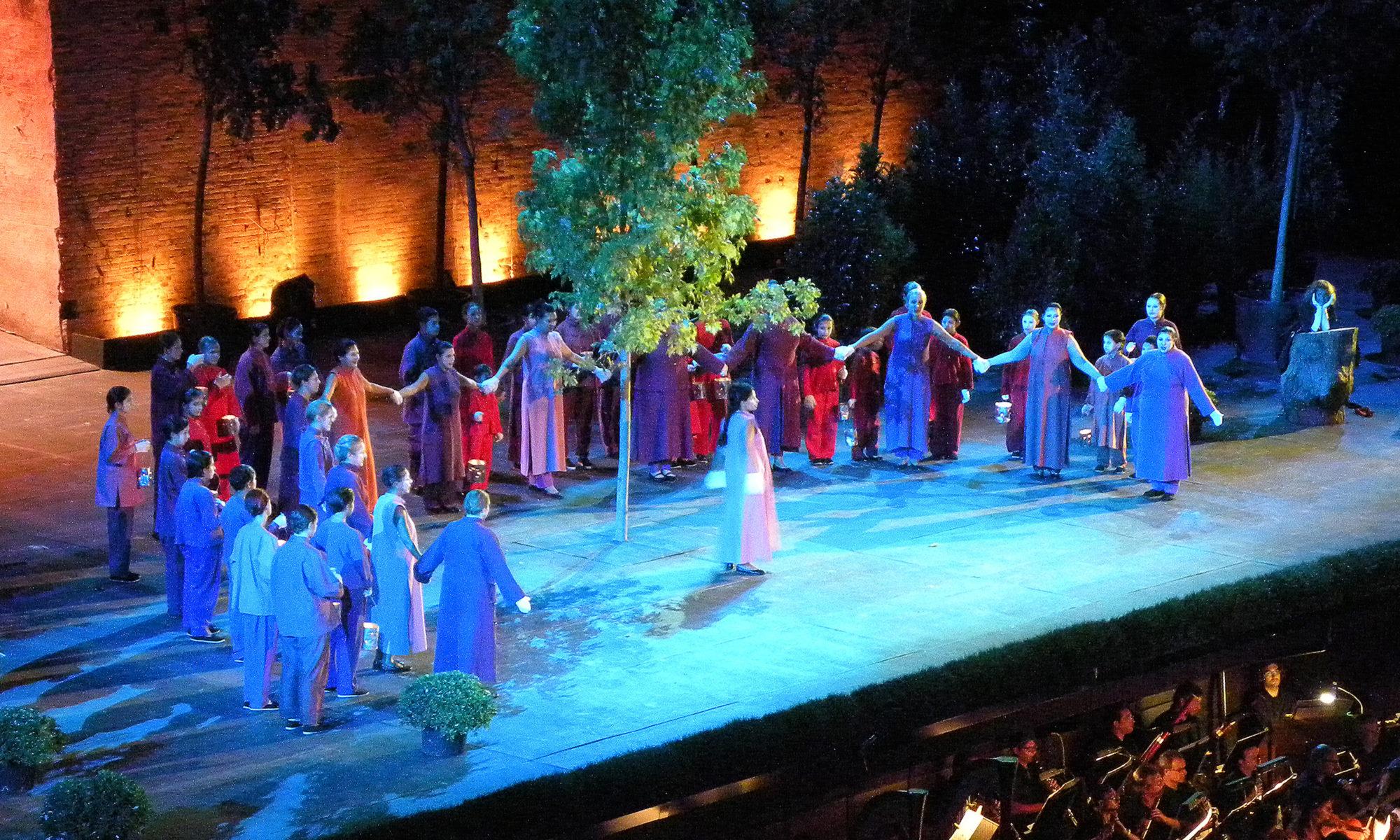 Sogno di Una notte di mezza estate, Macerata Opera, 2013